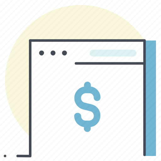 business, development, dollar, economy, finance, webpage, website icon