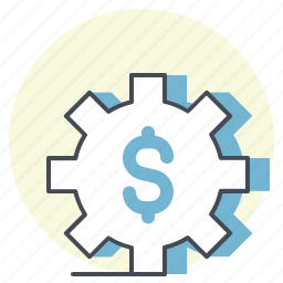 accounting, business, dollar, exchange, finance, optimize, setting icon
