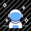 astronaut, cosmonaut, spaceman icon