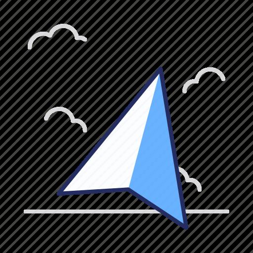 arrow, marker, pointer icon