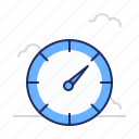speed, speedometer, timer icon