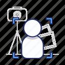 frame, photo, portrait icon
