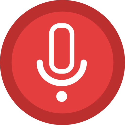 recorder, sound, tape, voice icon