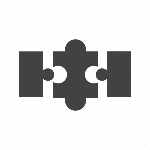 game, jigsaw, piece, play, puzzle, solution icon