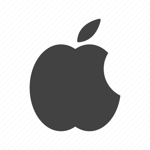 apple, logo, media, social icon