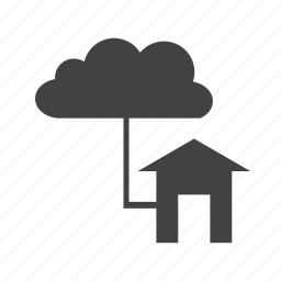 cloud, connections, seo icon