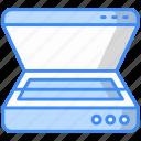 scanner, fax, inkjet, printer, electric, hardware, machine