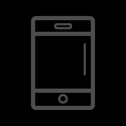 cell phone, cell phone icon, mobile, mobile icon, mobile line icon icon
