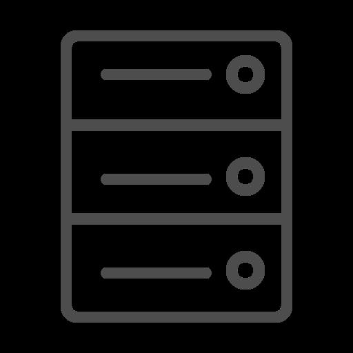 server, server icon, server line icon icon