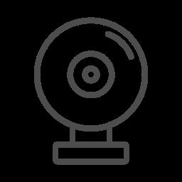 cam, web, web cam, web cam icon, web cam line icon icon