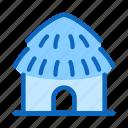 building, city, hut icon