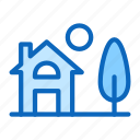 cottage, home, house, townhouse icon