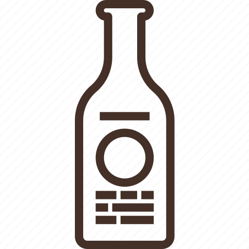alcohol, beer, bottle, craft, small icon