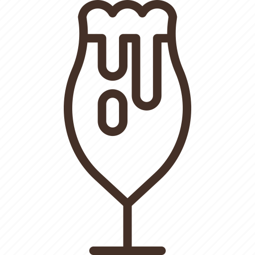 alcohol, beer, drink, glass, tulip icon