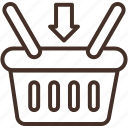 basket, buy, item, retail, shopping, store icon