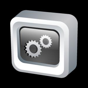 engine, widget, yahoo icon
