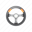 wheel, automotive, object, round, vehicle, steering, silver