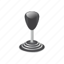 automotive, gear, gearstick, shift, shifter, stick-shift, transmission icon