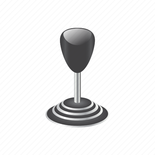 automotive, gear, gearstick, shift, shifter, stick-shift, transmission icon