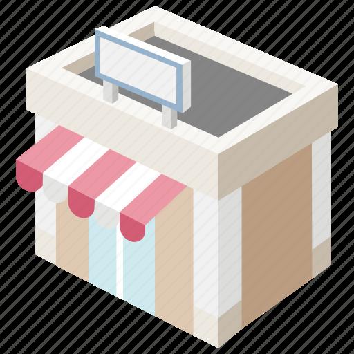 convenience, corner, general, grocery, shop, store, village icon