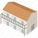 accommodation, american, building, dormitory, hotel, motel, motor icon