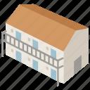 accommodation, american, building, dormitory, hotel, motel, motor icon