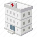 building, care, emergency, general, health, hospital, medical icon