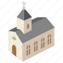 building, chapel, christian, christianity, church, religion, worship icon
