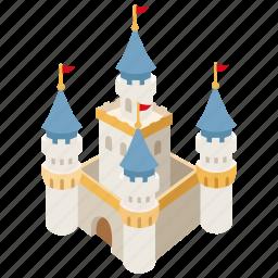 castle, citadel, fairy, fantasy, fortress, princess, tale icon