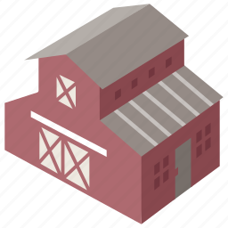 agricultural, agriculture, barn, building, farm, stable, storehouse icon