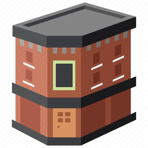 apartment, bar, building, club, corner, flats, pub icon