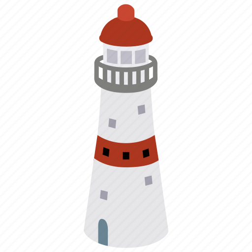 building, coast, house, light, lighthouse, tower icon