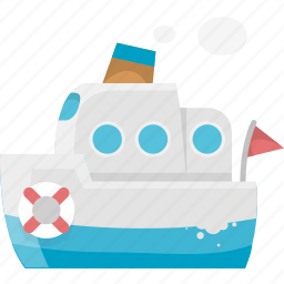 boat, journey, shipping, tour, tourism, transport, travel, trip icon