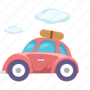car, journey, tour, tourism, transport, travel, trip icon