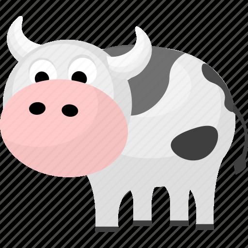 animal, animals, cow, mammal, pet icon