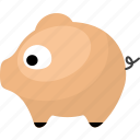 animal, animals, meat, pig icon