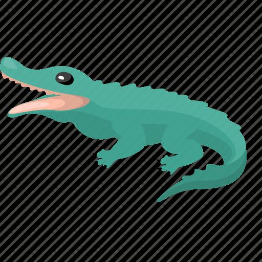animal, crocodile, zoo icon