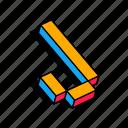 3d j, alphabet, font, j, letter, text