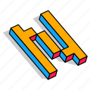 3d n, alphabet, font, letter, n, text