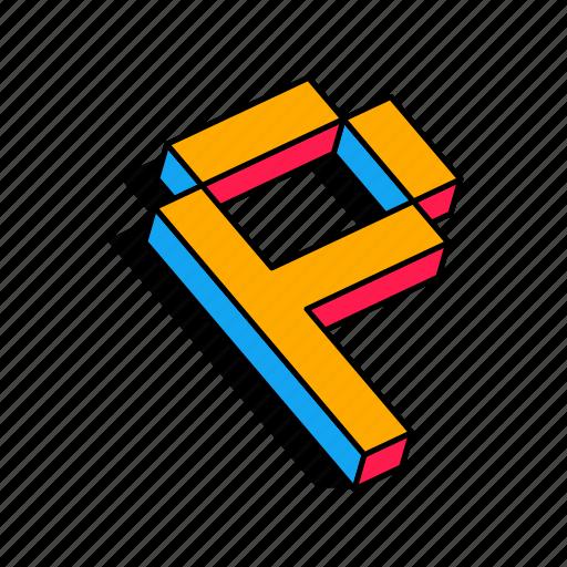 '3D Fonts' by Cuby Design