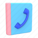 phonebook, contacts, address book, phone directory icon