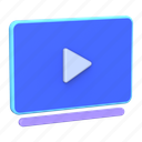 television, video, player, movie, media, play icon