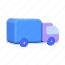 truck, delivery, shipping, transport, logistics, vehicle