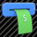 withdraw, money, atm, dollar, cash, bank