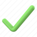 tick, checkmark, ok, check, accept, yes, approved icon