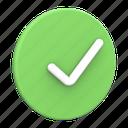 check, checkmark, verified, green, ok