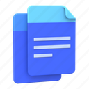 copy, documents, files, paper, text icon