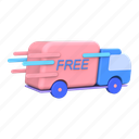 free, shipping, delivery, courier, transport, package
