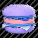 hamburger, burger, fast food, cheeseburger, junk food