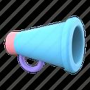 hand, speaker, megaphone, audio, sound, message